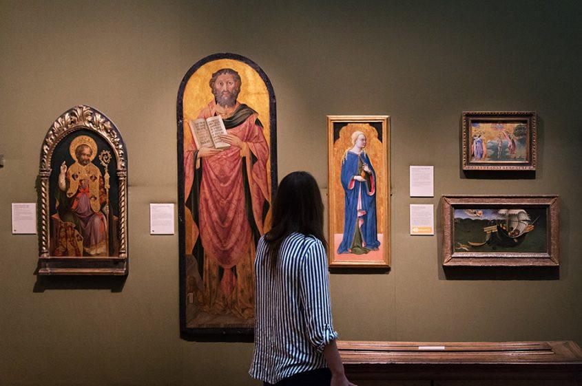 Fabian Fröhlich, Oxford, Ashmolean Museum, Giovanni Antonio da Pesaro, Saint Mark; Francesco de Francesco, St Mary Magdalene