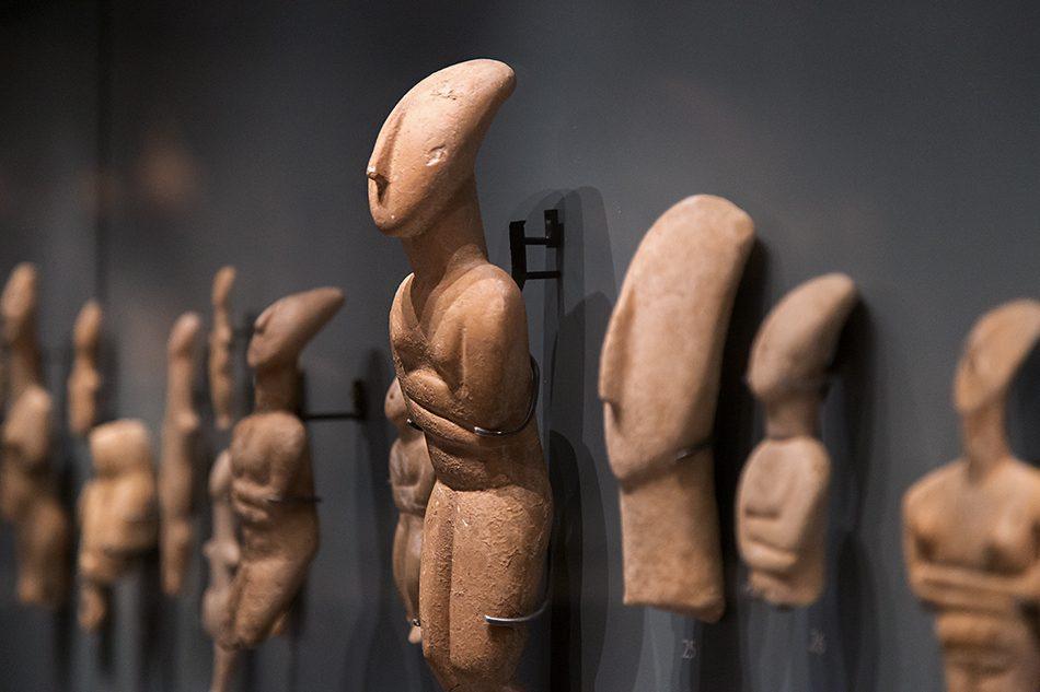 Fabian Fröhlich, Oxford, Ashmolean Museum, Cycladic Figures