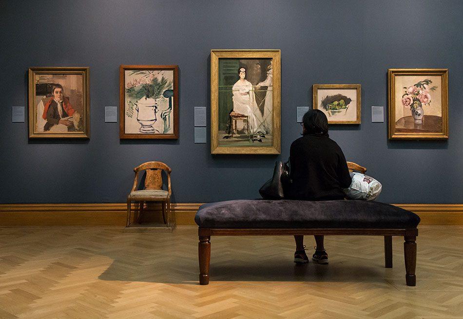Fabian Fröhlich, Oxford, Ashmolean Museum, Edouard Manet, Portrait of Mademoiselle Claus