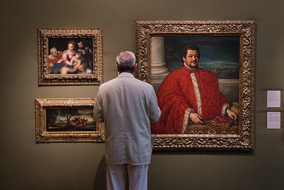 Fabian Fröhlich, Oxford, Ashmolean Museum, Girolamo da Ponte, Portrait of Gianfrancesco Sagredo