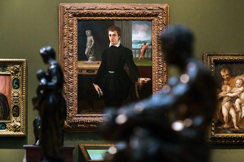 Fabian Fröhlich, Oxford, Ashmolean Museum, Alessandro Allori , Portrait of a Young Man