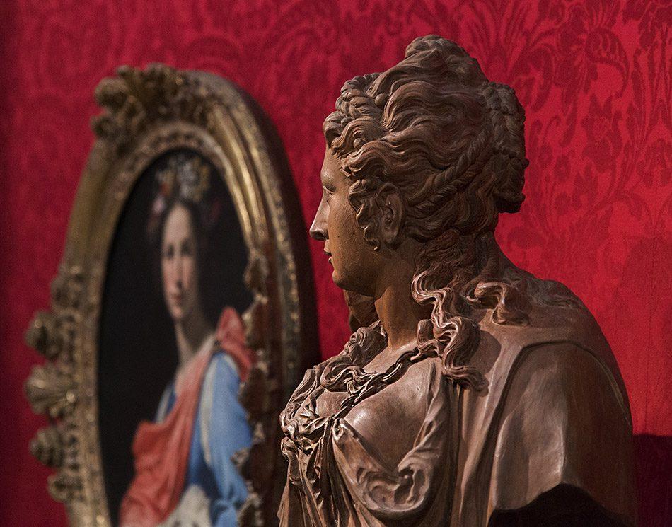 Fabian Fröhlich, Oxford, Ashmolean Museum, Lorenzo Lipp, Allegory of Innocence; Lucas Faydherbe, Omphale
