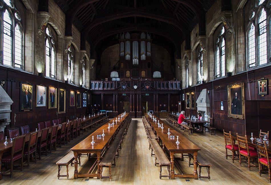 Fabian Fröhlich, Oxford, Dining Hall at Balliol College
