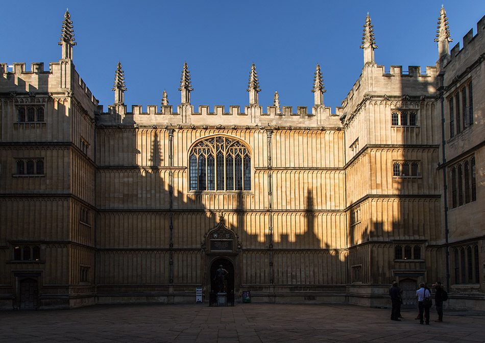 Fabian Fröhlich, Oxford, Entrance to the Old Bodleian Library