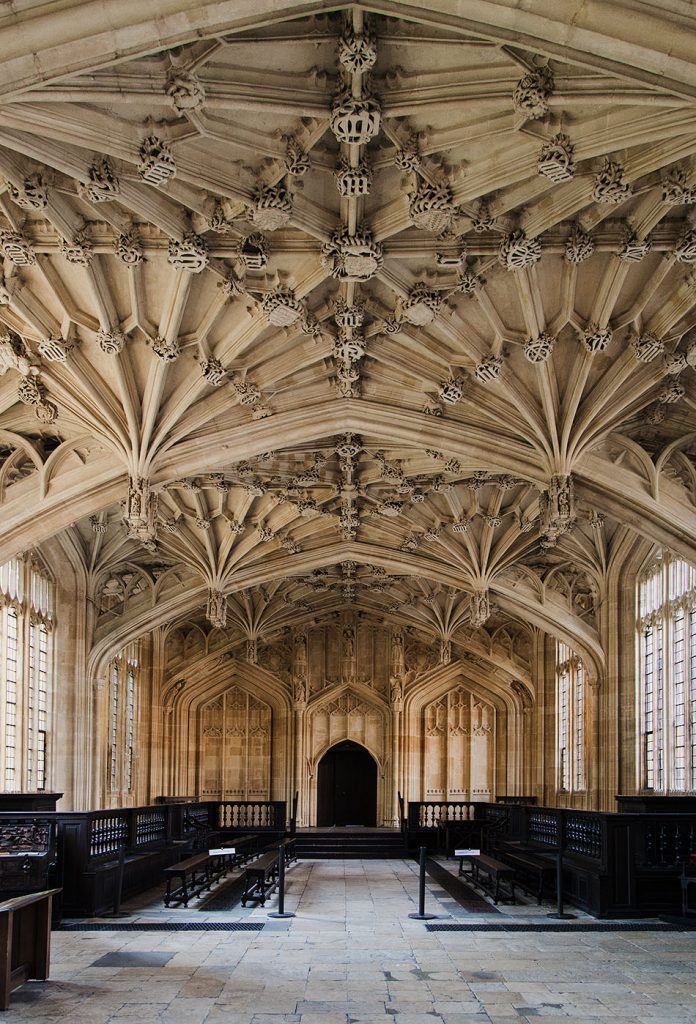 Fabian Fröhlich, Oxford, Ceiling of Divinity School