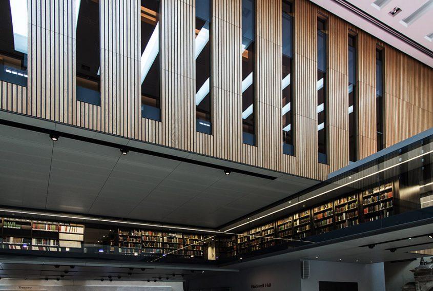 Fabian Fröhlich, Oxford, Atrium of the Weston Library