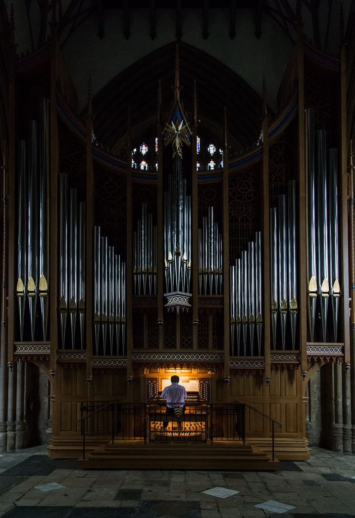 Fabian Fröhlich, Oxford, Organist in the chapel of Merton College