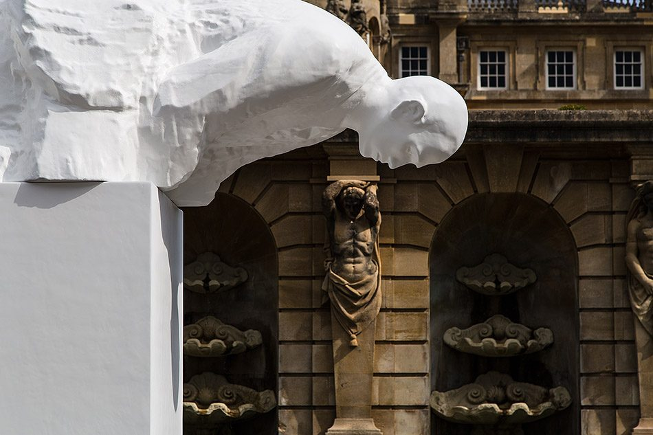 Fabian Fröhlich, Blenheim Palace, Fall by Michelangelo Pistoletto