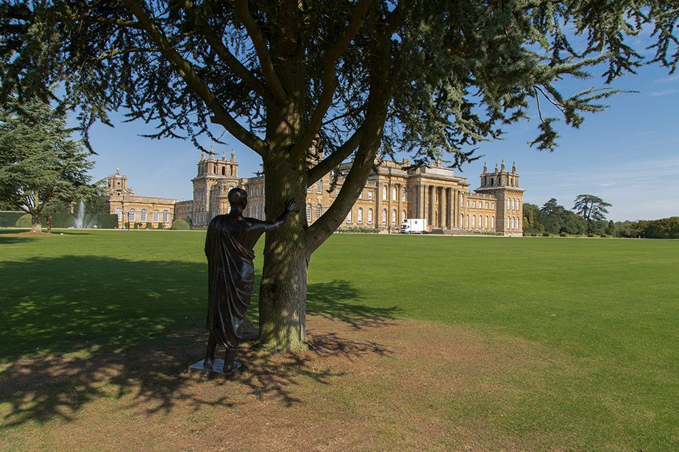 Fabian Fröhlich, Blenheim Palace, The Etruscan by Michelangelo Pistoletto