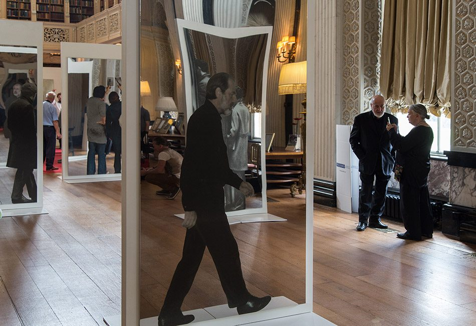 Fabian Fröhlich, Blenheim Palace, Installation by Michelangelo Pistoletto in the Long Library