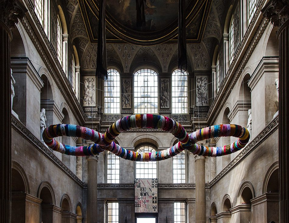 Fabian Fröhlich, Blenheim Palace, The Third Paradise by Michelangelo Pistoletto in the Great Hall