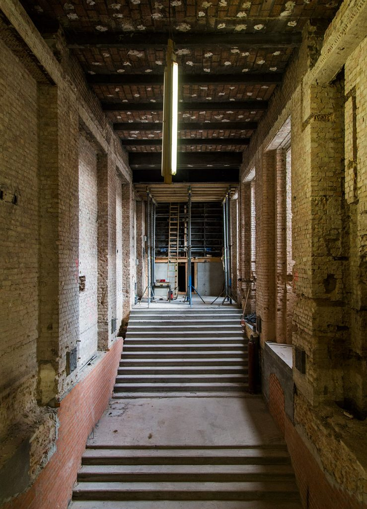 Fabian Fröhlich, Baustelle Pergamonmuseum,