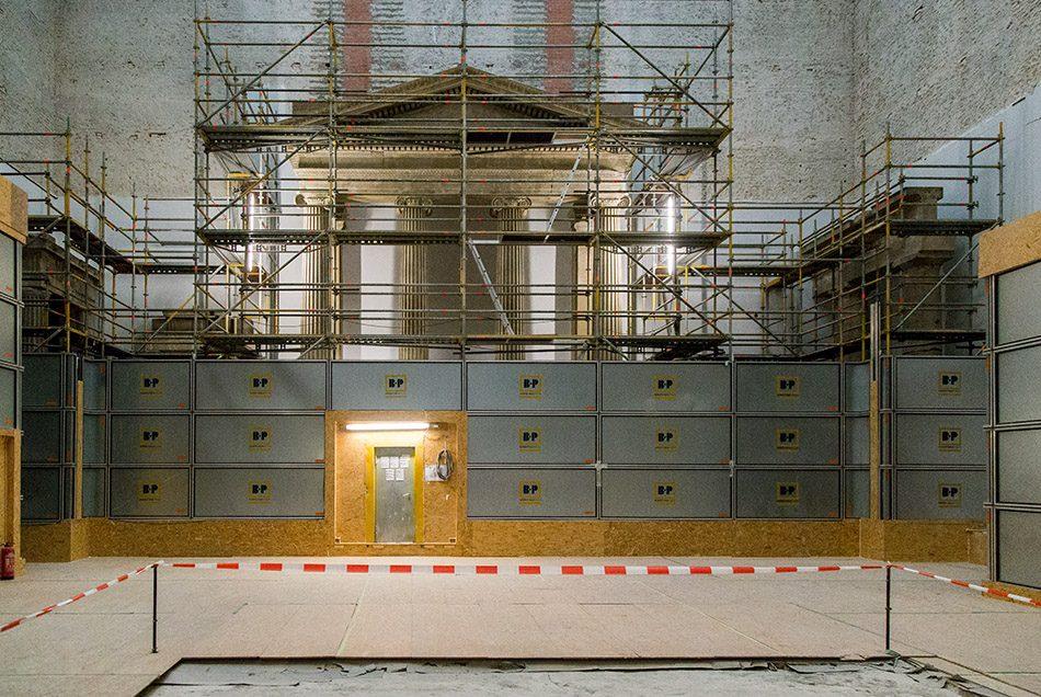 Fabian Fröhlich, Baustelle Pergamonmuseum,  Hellenistischer Saal