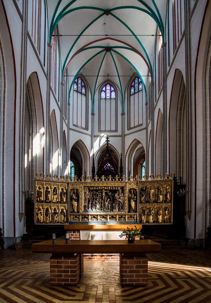 Fabian Fröhlich, Schwerin, Schweriner Dom St. Marien und St. Johannis, Altar