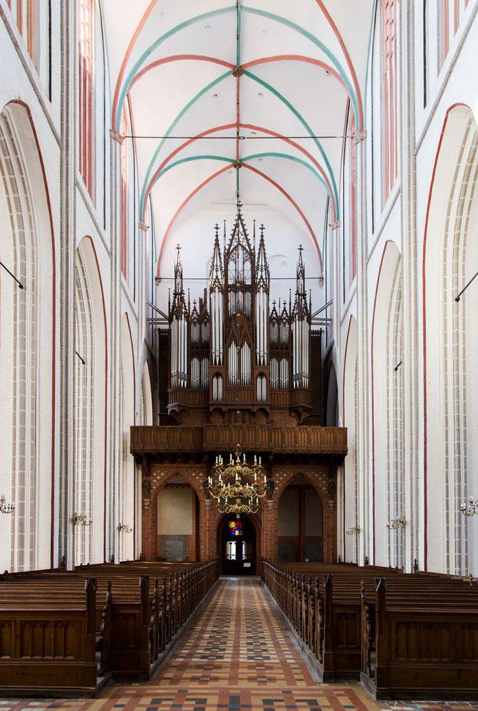 Fabian Fröhlich, Schweriner Dom St. Marien und St. Johannis, Orgel