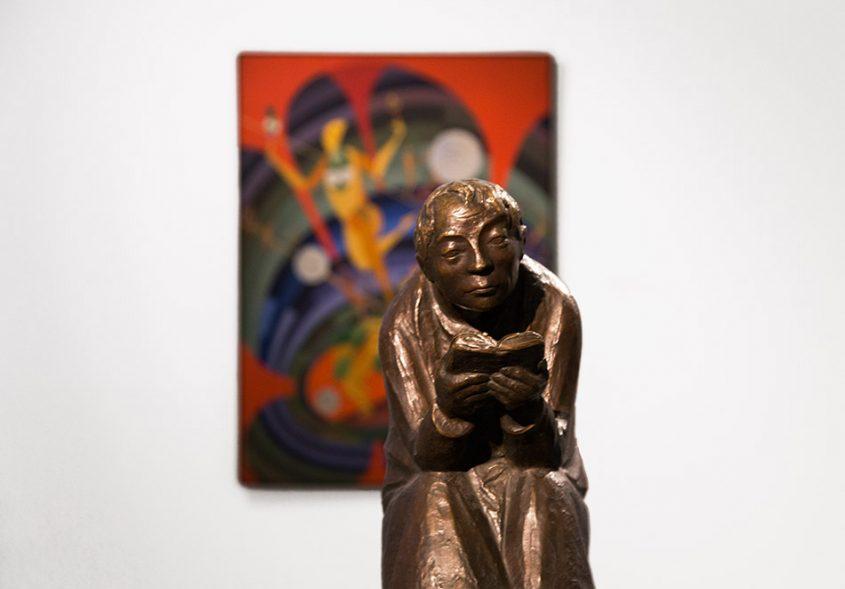 Fabian Fröhlich, Staatliches Museum Schwerin, Ernst Barlach, Der Buchleser
