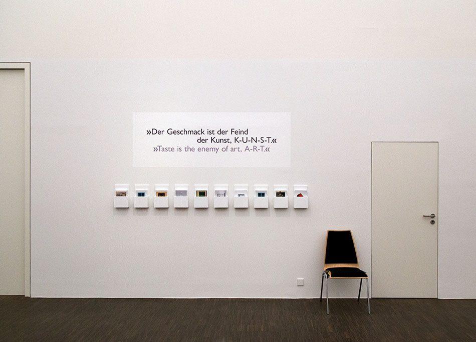 Fabian Fröhlich, Staatliches Museum Schwerin, Ausstellung Marcel Duchamp: Das Unmögliche sehen
