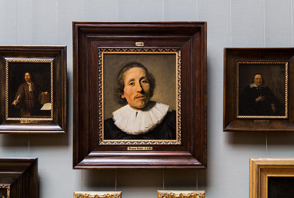 Fabian Fröhlich, Staatliches Museum Schwerin, Frans Hals, Brustbild eines Mannes mit dunkelblondem Haar