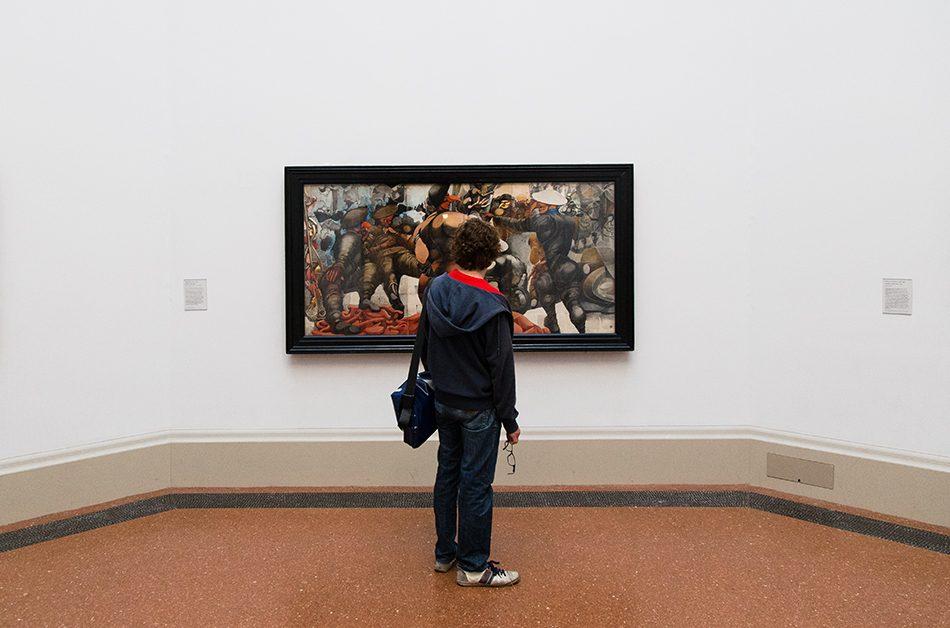 Fabian Fröhlich, Tate Britain, Edward Burra, Soldiers at Rye