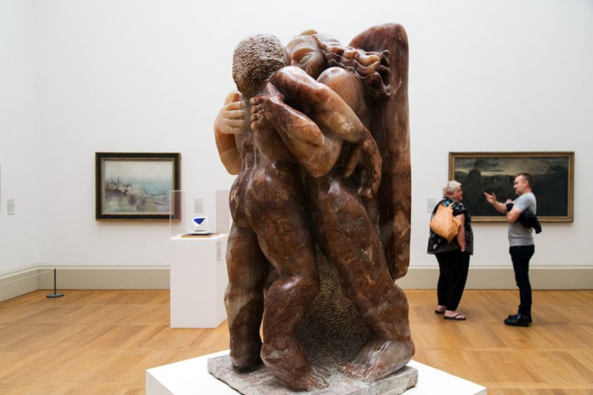 Fabian Fröhlich, Tate Britain, Jacob Epstein, Jacob and the Angel