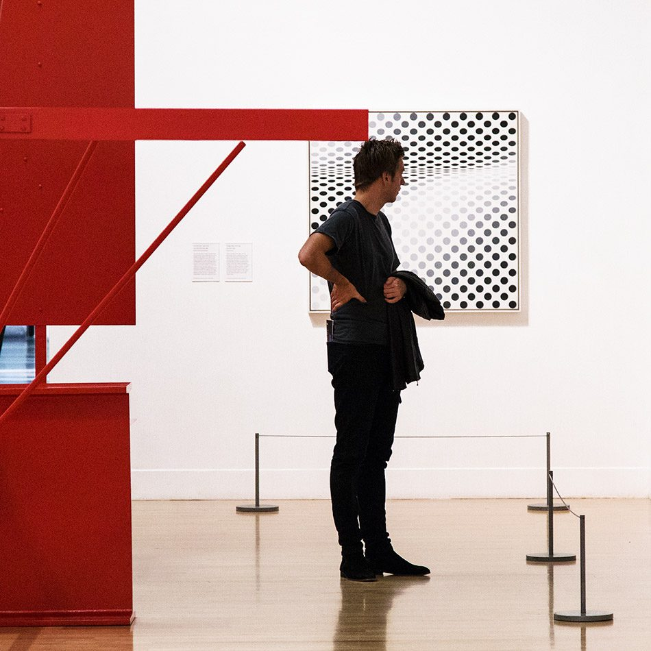 Fabian Fröhlich, Tate Britain, Bridget Riley, Hesitate