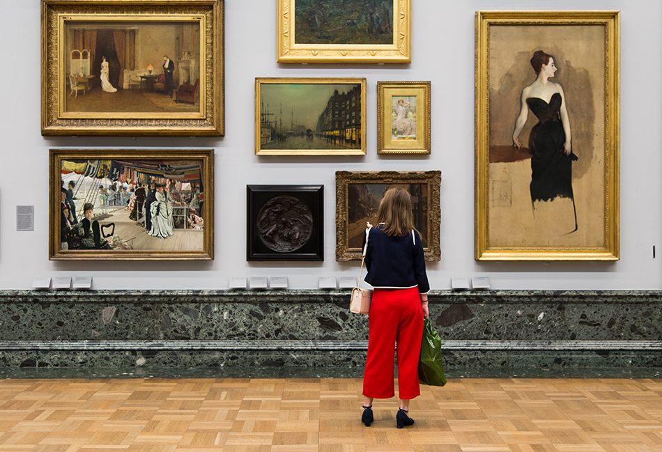 Fabian Fröhlich, Tate Britain, John Singer Sargent, Study of Madame Gautreau