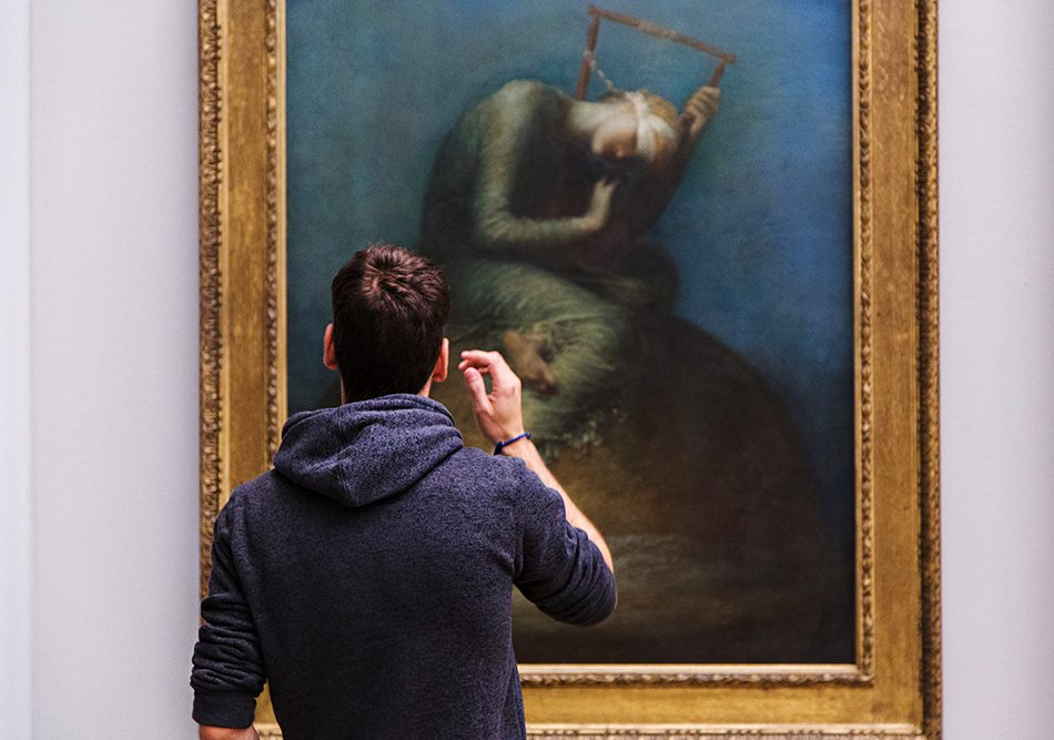 Fabian Fröhlich, Tate Britain, George Frederic Watts, Hope