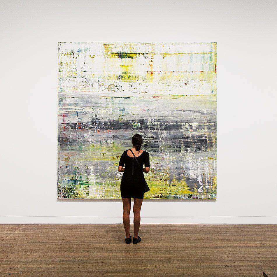 Fabian Fröhlich, Tate Modern, Gerhard Richter, Cage II