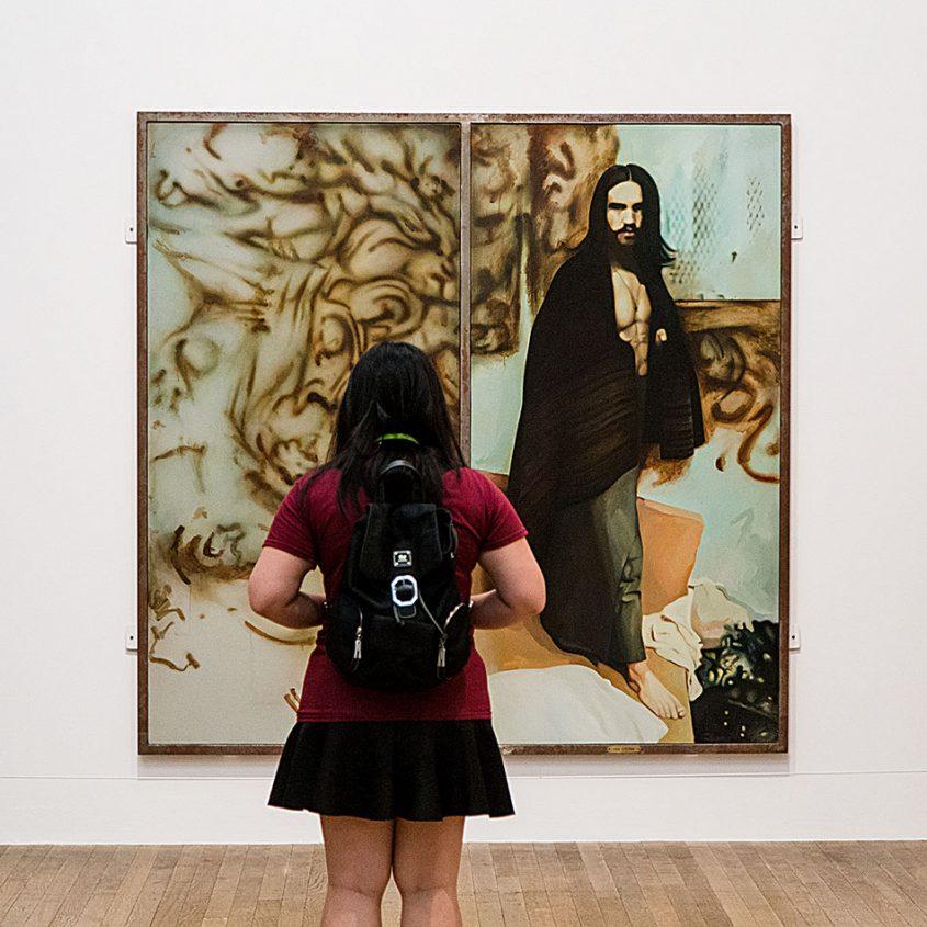 Fabian Fröhlich, Tate Modern, Richard Hamilton, The Citizen