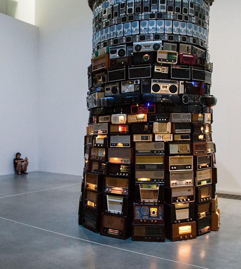 Fabian Fröhlich, Tate Modern, Cildo Meireles, Babel