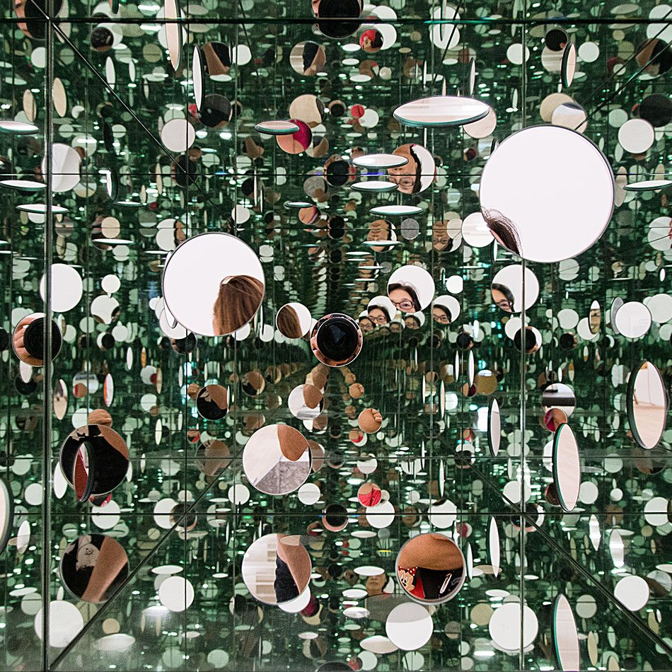 Fabian Fröhlich, Tate Modern, Yayoi Kusama, The Passing Winter