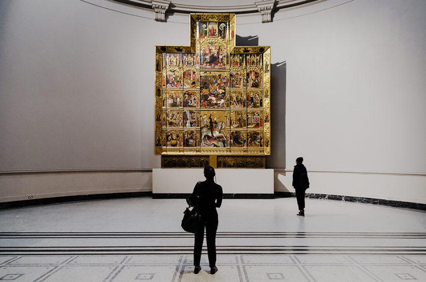 Fabian Fröhlich, V&A, tSt George Altarpiece from Valencia