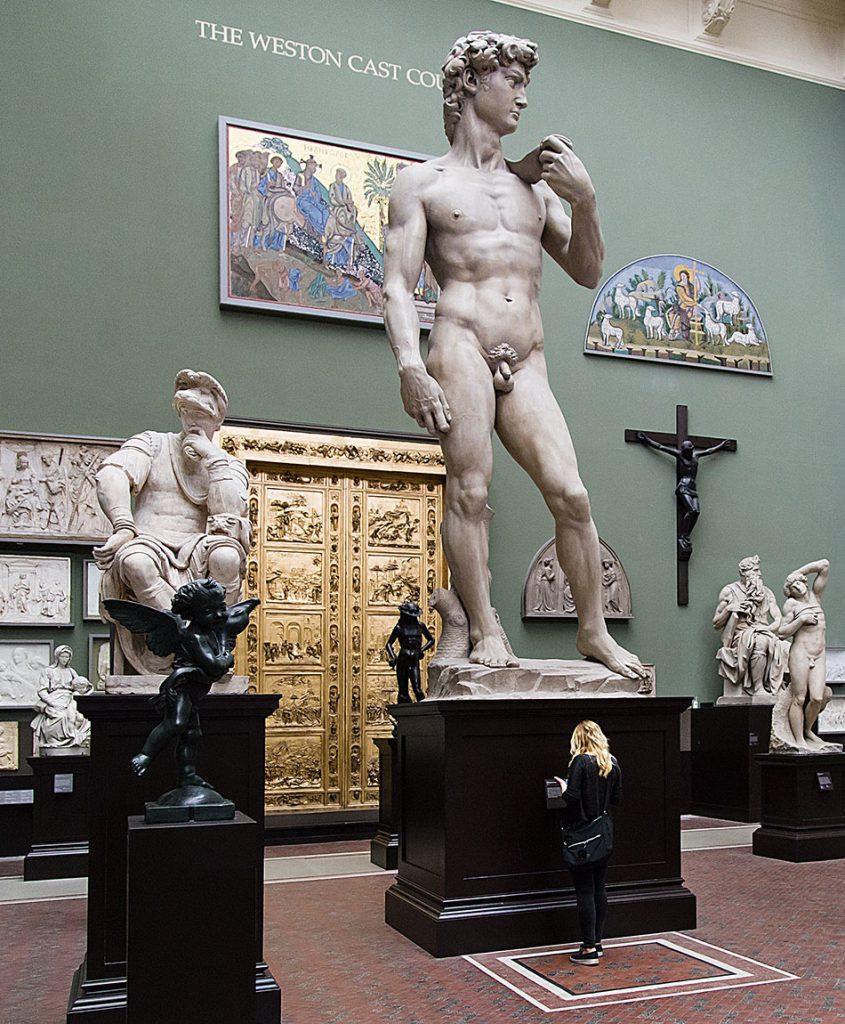 Fabian Fröhlich, V&A, Weston Cast Court, Dabid by Michelangelo