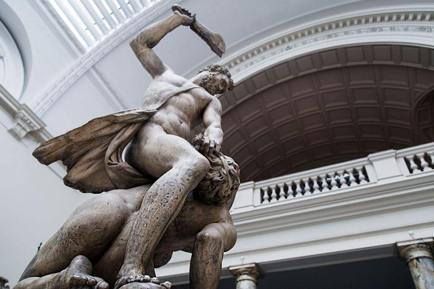Fabian Fröhlich, V&A, Giambologna, Samson slaying a Philistine