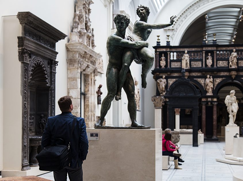 Fabian Fröhlich, V&A, Vincenzo de Rossi, Pluto and Proserpina