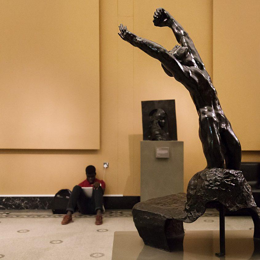 Fabian Fröhlich, V&A, Auguste Rodin, The Prodigal Son