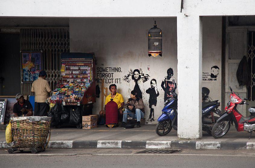 Fabian Fröhlich, Java, Bandung, Jalan Asia Afrika