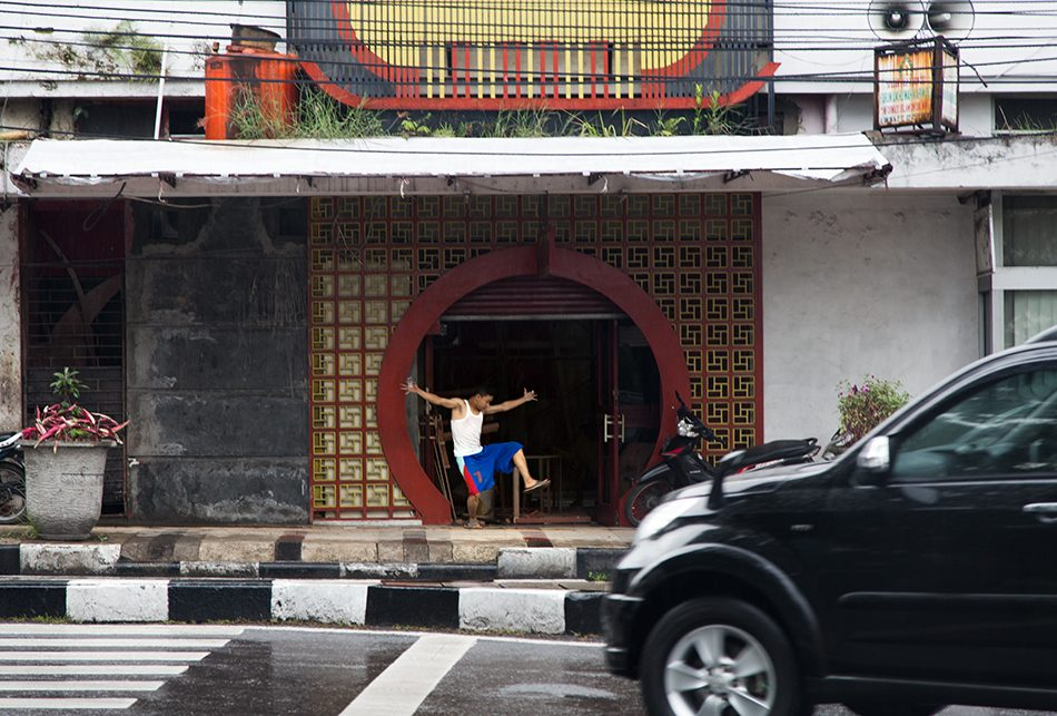 Fabian Fröhlich, Java, Bandung, Jalan Tamblong