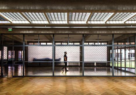 Fabian Fröhlich, Bauhaus-Denkmal Bundesschule Bernau,