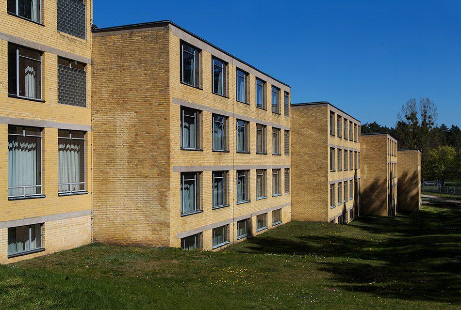 Fabian Fröhlich, Bauhaus-Denkmal Bundesschule Bernau, Internatshäuser