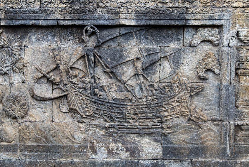 Fabian Fröhlich, Borobudur Temple, The Borobudur ship