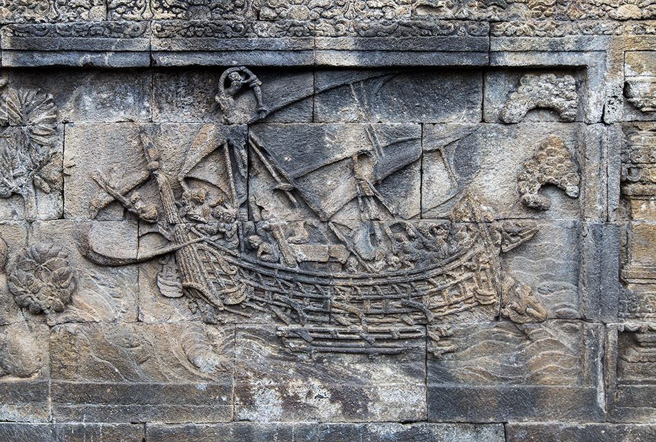 Fabian Fröhlich, Borobudur Temple, The Borobudur ship