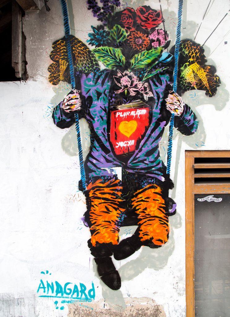 Fabian Fröhlich, Jogja, ꦔꦪꦺꦴꦒꦾꦏꦂꦠ, Street Art by Anagard.