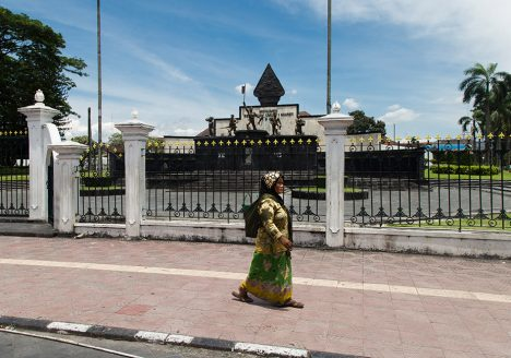 Fabian Fröhlich, Jogja, ꦔꦪꦺꦴꦒꦾꦏꦂꦠ, Monumen Serangan Umum 1 Maret (1 March General Attack Monument)