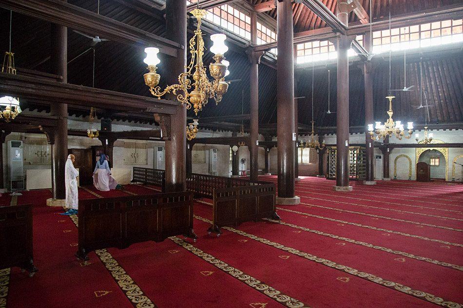 Fabian Fröhlich, Jogja, ꦔꦪꦺꦴꦒꦾꦏꦂꦠ, Kauman Great Mosque
