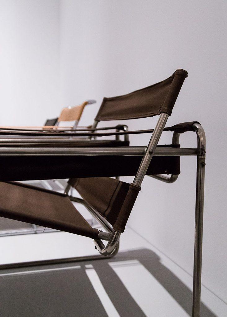 Fabian Fröhlich, Berlinische Galerie, Ausstellung original bauhaus, Marcel Breuer, Stahlrohr-Armsessel