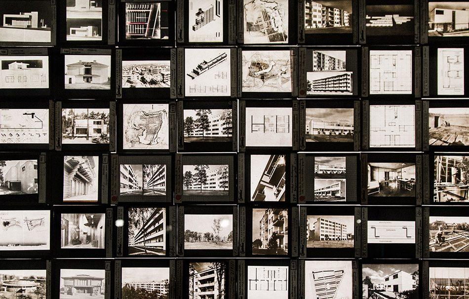 Fabian Fröhlich, Berlinische Galerie, Ausstellung original bauhaus, Verschiedene Fotograf*innen, Glasdiapositive aus der Sammlung von Walter Gropius