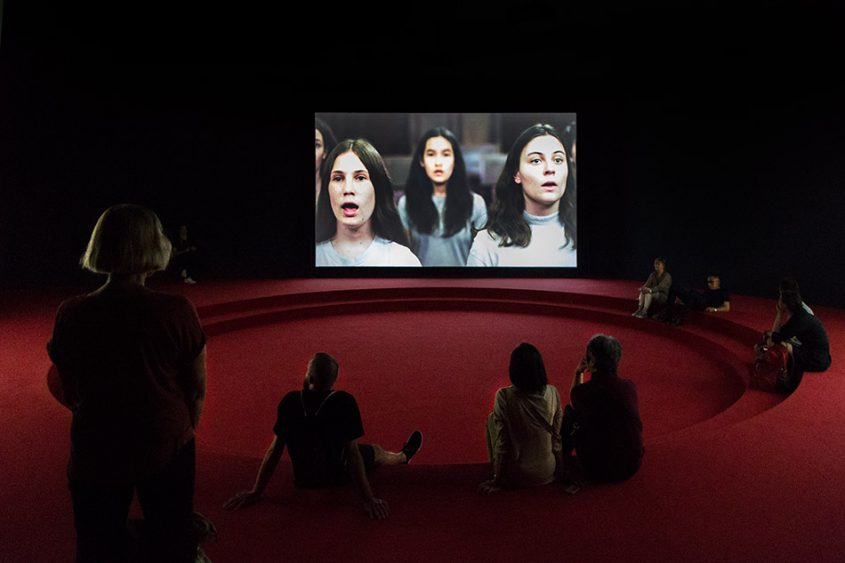 Fabian Fröhlich, Biennale di Venezia, 2019, Giardini, Australian Pavilion, Angelica Mesiti, Assembly