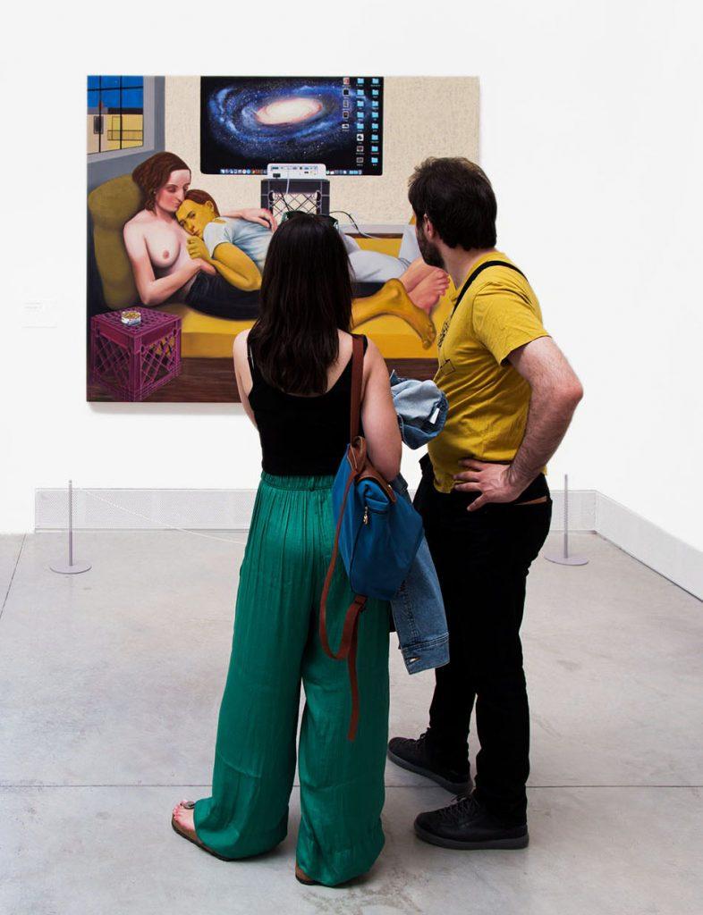 Fabian Fröhlich, Biennale di Venezia, 2019, Giardini, Central Pavilion, Nicole Eisenman, Morning Studio