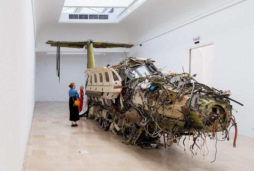 Fabian Fröhlich, Biennale di Venezia, 2019, Giardini, Polish Pavilion, Roman Stańczak, Flight